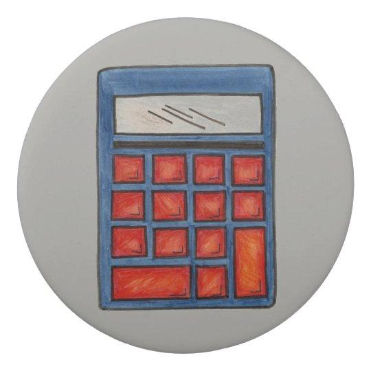 Taschenrechner-Mathe-Schulpersonalisiertes Radiergummi 1