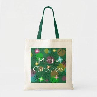 """Taschentasche der Weihnachtslicht-""""frohen Tragetasche"""