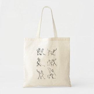 Taschentasche mit zwölf Tänzern Tragetasche