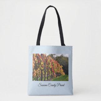 Taschentasche, Weinberge im Fall - Sonoma County Tasche