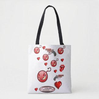Taschentaschen-Valentinstag-Liebeherzen Tasche