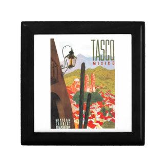 Tasco Mexiko Reise-Plakat 1950 Geschenkbox