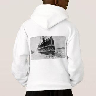 Tashmoo von Vintagem Great Lakes Schiff Detroits Hoodie