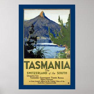Tasmanien ~ die Schweiz des Südens Poster
