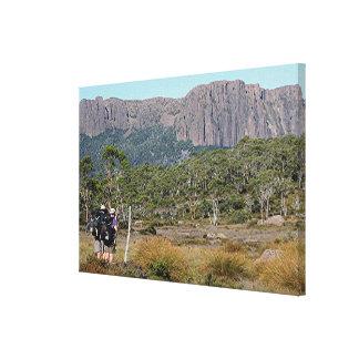 Tasmaniens Überlandbahn Leinwanddruck