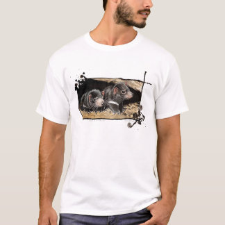 tasmanische Teufel des Babys T-Shirt