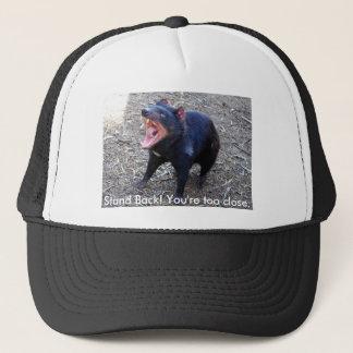 Tasmanischer Teufel h--  Stehen Sie zurück! Sie Truckerkappe