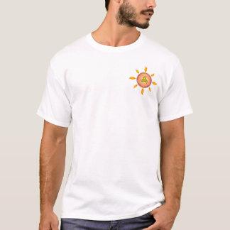Tassa Dojo-Sonnendurchbruch-Logo T-Shirt