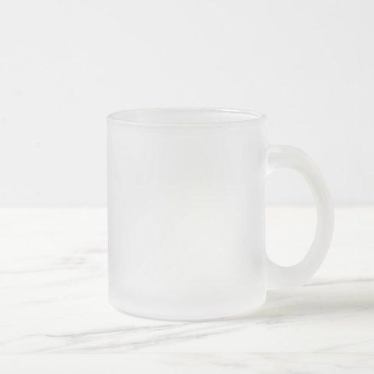 Tasse 296ml aus Mattglas