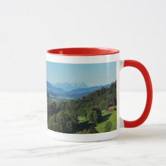Tasse Alpenpanorama mit Säntis