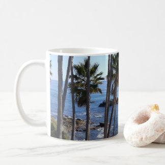 Tasse am Strand