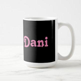 Tasse Dani