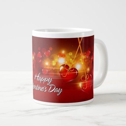 Tasse das Day17 des glücklichen Valentines Extragroße Tassen