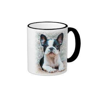 Tasse der französischen Bulldogge