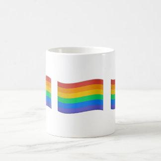 TASSE DER GAY PRIDE-FLAGGEN-EMOJI