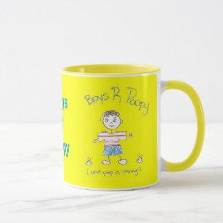 Tasse der Jungen-R Poopy