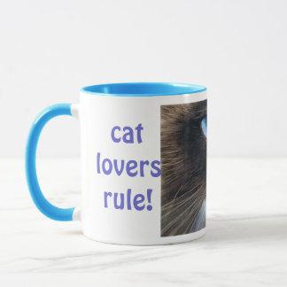 Tasse der Katzen-Liebhaber-Regel-2
