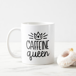 Tasse der Koffein-Königin-11oz