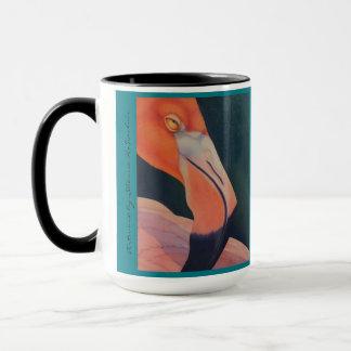 Tasse des Flamingo-15oz