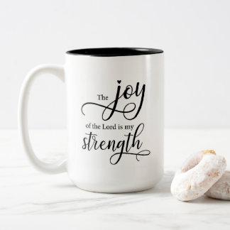 Tasse die Freude am Lord ist meine Stärke