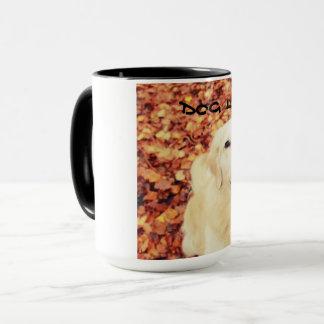 Tasse für Hundeliebhaber mit goldenem Retriever
