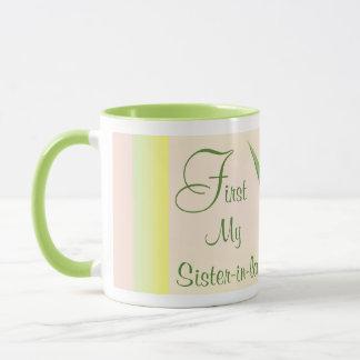 Tasse für Schwägerin - zuerst und für immer