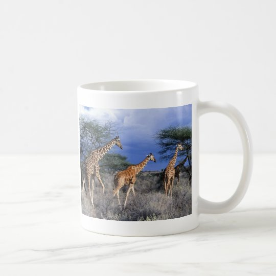 Tasse Giraffen Gruppe