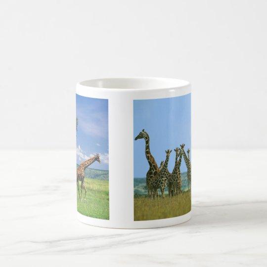 Tasse Giraffen Herde