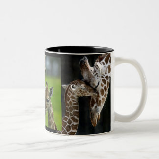 Tasse Giraffen Mutter + Kind