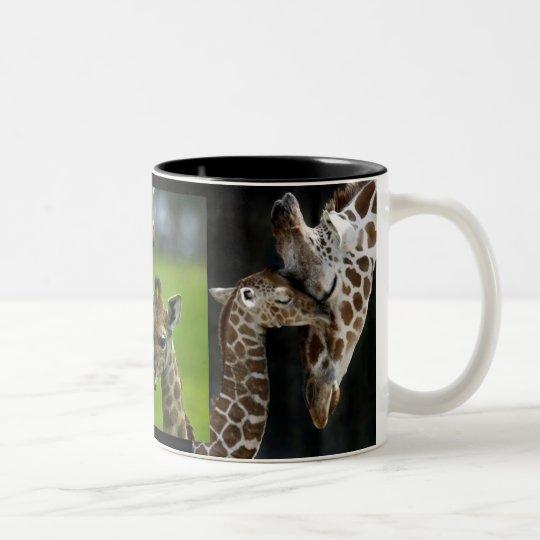 Tasse Giraffen Mutter + Kind