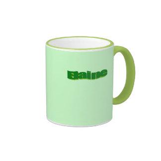 Tasse grünen Tees Elaine