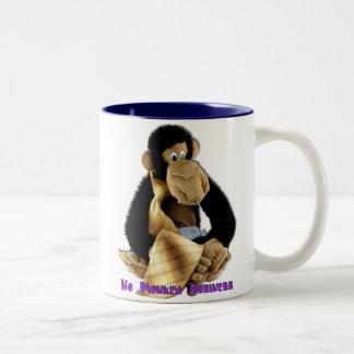 Tasse: Herr-Workaholic Zweifarbige Tasse