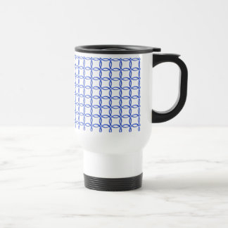 Tasse - ineinander greifenringe im Blau