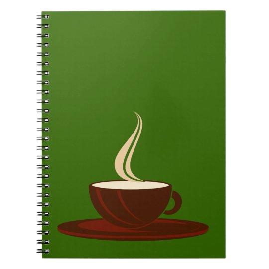 Tasse Kaffee cup coffee Spiral Notizblock