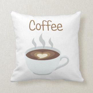Tasse Kaffee Kissen