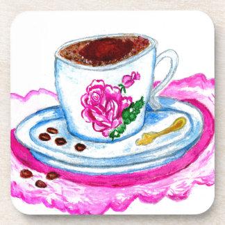 Tasse Kaffee-Kunst Untersetzer
