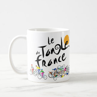 Tasse Le Tangle de Frankreich (Le Tour de France)