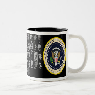 Tasse mit 44 Präsidenten