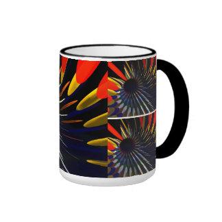 Tasse mit abstraktem Entwurf