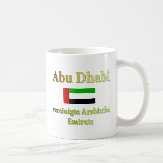 Tasse mit Abu Dhabi