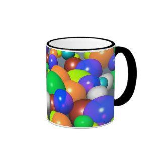 Tasse mit Ballonentwurf