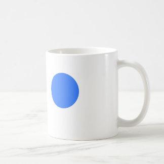 Tasse mit blauer Stelle