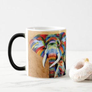 Tasse mit Elefantentwurf