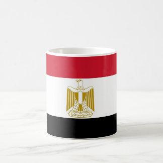 Tasse mit Flagge von Ägypten