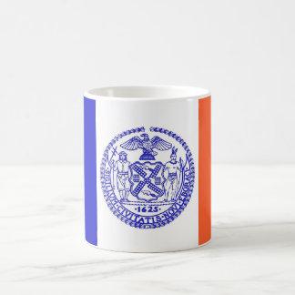 Tasse mit Flagge von New York City - USA