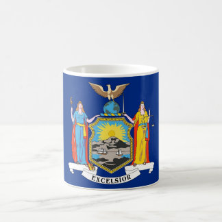 Tasse mit Flagge von New- YorkStaat - USA