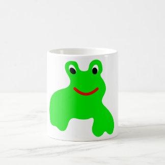 Tasse mit Frosch