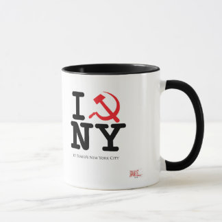 Tasse mit I (Hammer und Sichel) New York