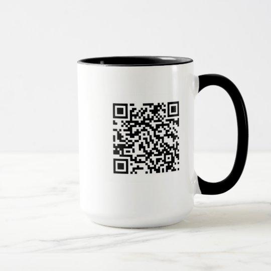 Tasse mit QR Code