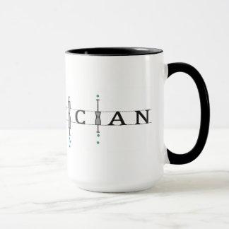 """Tasse mit """"Statistiker"""" Logo"""